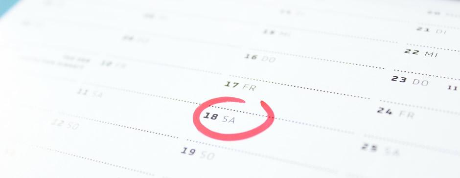 Calendário de Reuniões